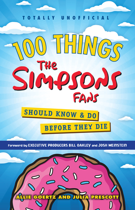 100 things simpsons