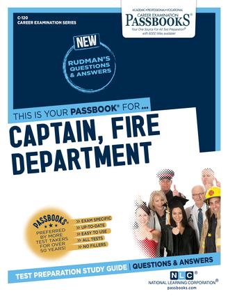 Captain, Fire Department