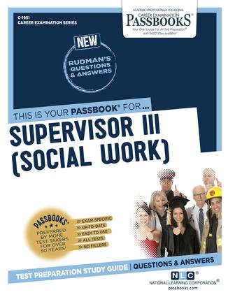 Supervisor III (Social Work)