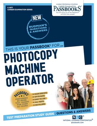 Photocopy Machine Operator