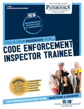 Code Enforcement Inspector Trainee