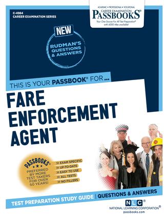 Fare Enforcement Agent