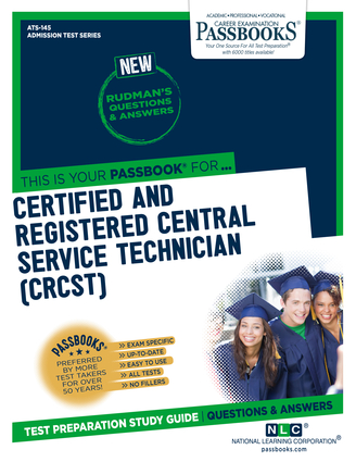 Certified and Registered Central Service Technician (CRCST)