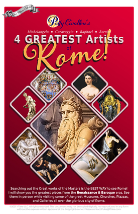 4 Greatest Artists of Rome