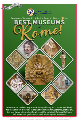 Best Museums in Rome