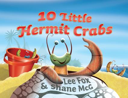 10 Little Hermit Crabs