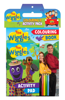 The Wiggles: Colouring and Activity Pack