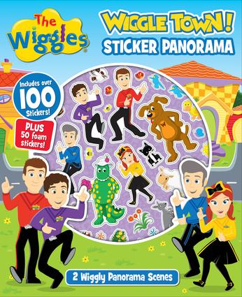 The Wiggles: Wiggle Town! Sticker Panorama