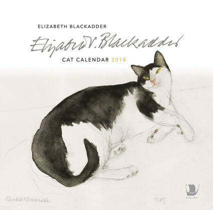 The Elizabeth Blackadder Cat Calendar 2018