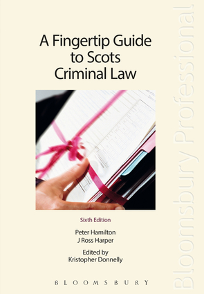 A Fingertip Guide to Scots Criminal Law