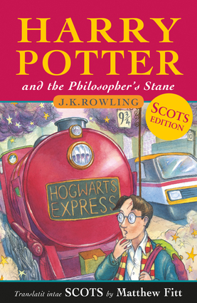 Harry Potter and the Philosopher's Stane (Scots Language Edition)