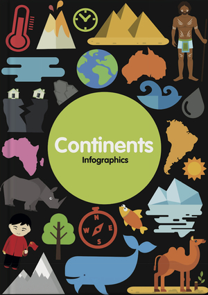 Continents Infographics