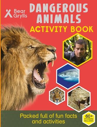 Dangerous Animals Activity Book