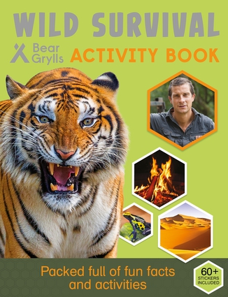 Wild Survival Activity Book
