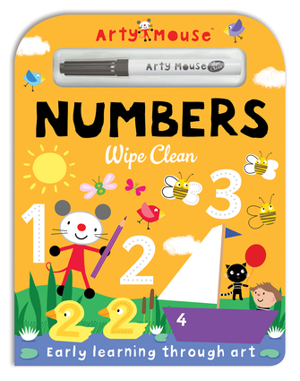 Arty Mouse Wipe Clean Numbers