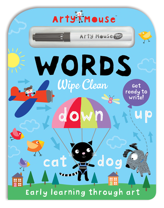 Arty Mouse Wipe Clean Words