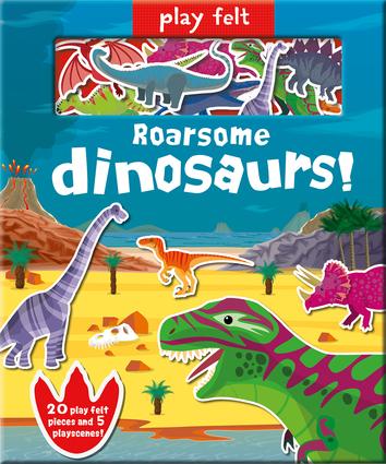 Play Felt Roarsome Dinosaurs!