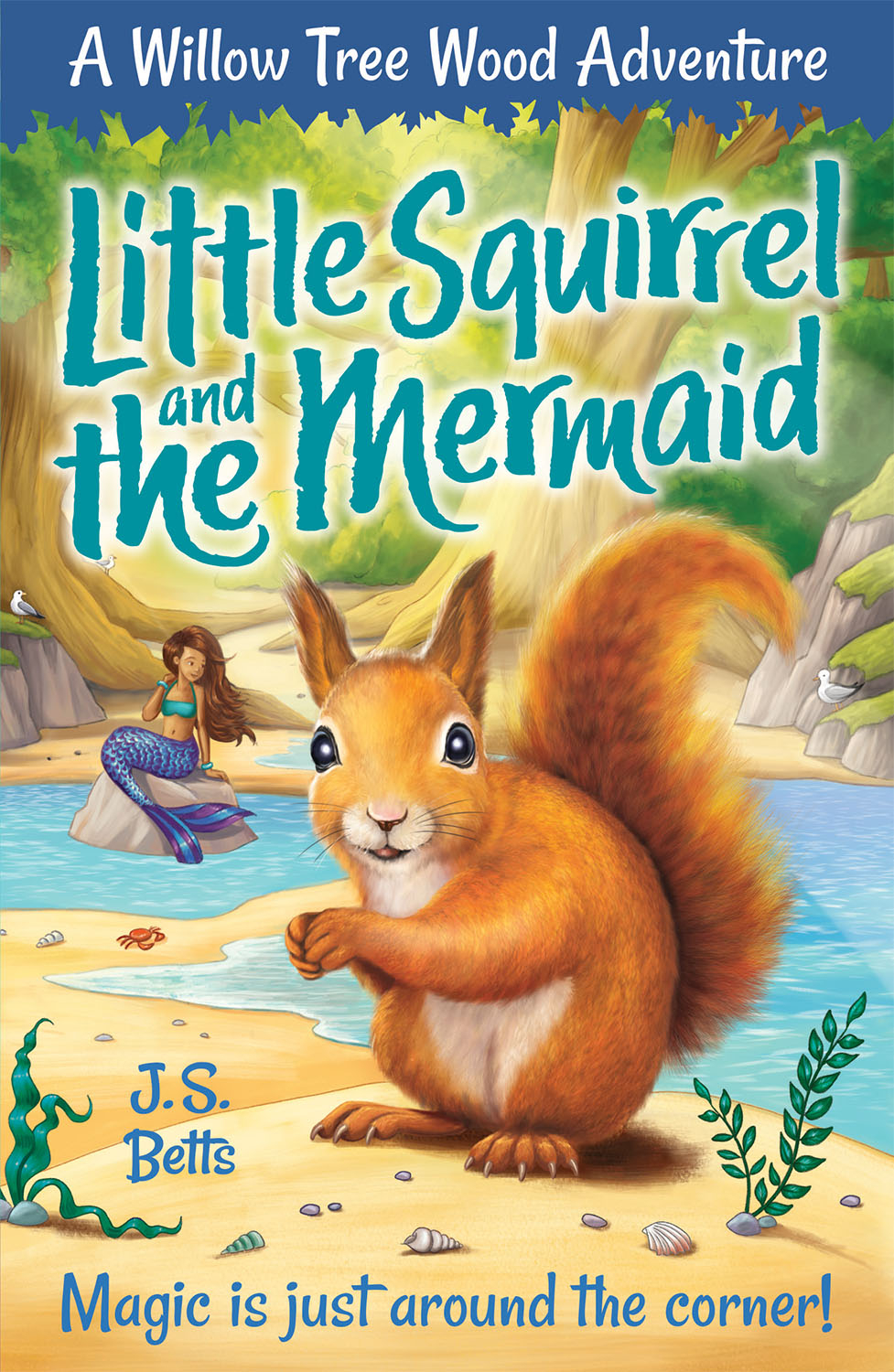 Little Squirrel and the Mermaid