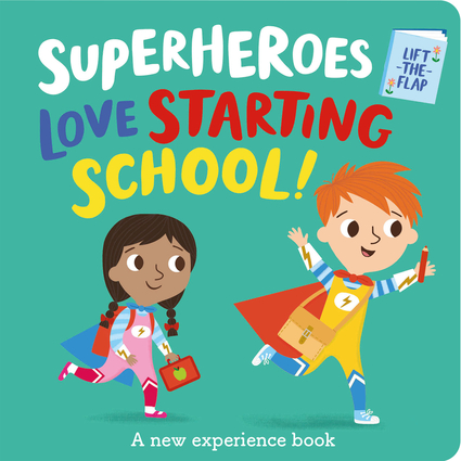 Superheroes LOVE Starting School!