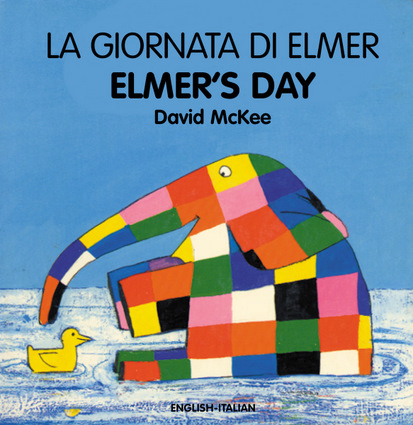 Elmer's Day (English–Italian)