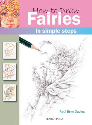 how to draw a fairies step by step