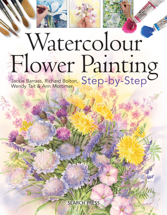 watercolour flower painting stepbystep independent