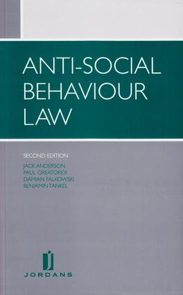 Anti-social Behaviour Law