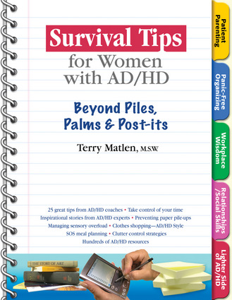 Survival Tips for Women with AD/HD
