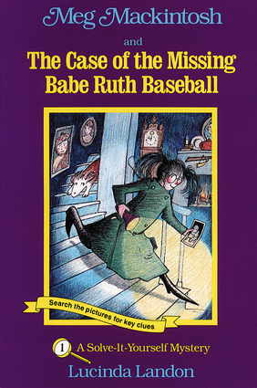 Meg Mackintosh and the Case of the Missing Babe Ruth Baseball - title #1