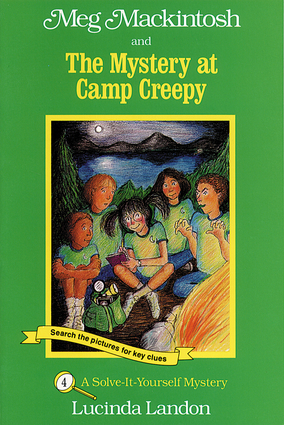 Meg Mackintosh and the Mystery at Camp Creepy - title #4