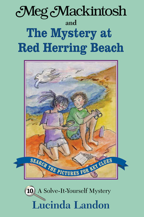 Meg Mackintosh and the Mystery at Red Herring Beach - title #10