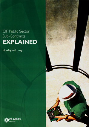 CIF Public Sector Sub-Contracts