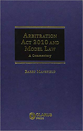 Arbitration Act 2010 and Model Law
