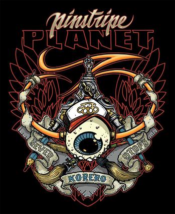 Pinstripe Planet III
