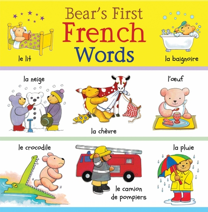 Bear's First French Words