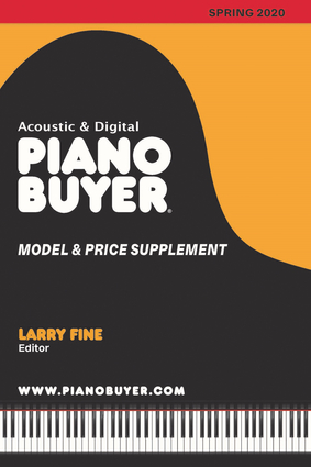 Piano Buyer Model & Price Supplement / Spring 2020