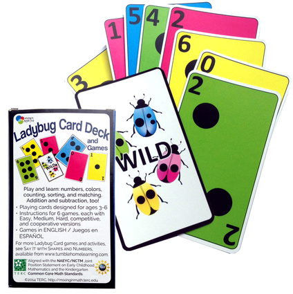 Ladybug Card Deck with Games