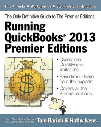 Running QuickBooks® 2013 Premier Editions