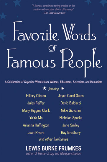 Favorite Words Of Famous People Independent Publishers Group