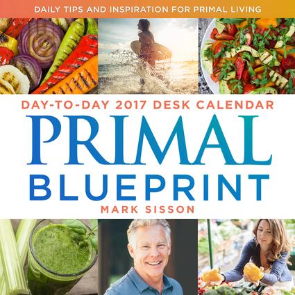 Primal Blueprint Day-to-Day 2017 Desk Calendar