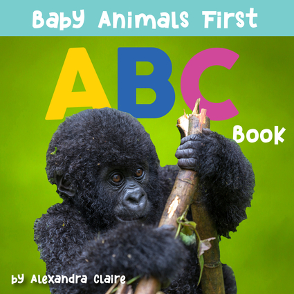 Baby Animals First ABC Book