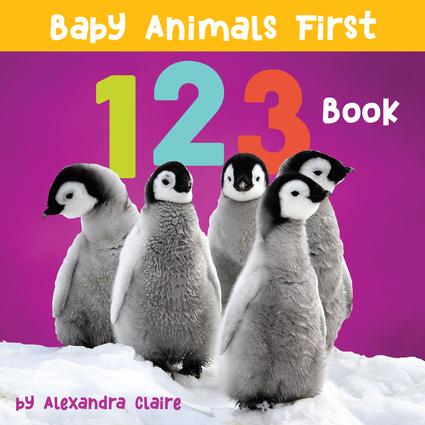 Baby Animals First 123 Book