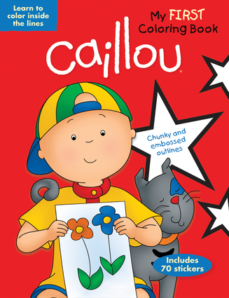 caillou my first coloring book - Coloring Book Publishers