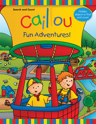 Caillou: Search and Count—Fun Adventures!