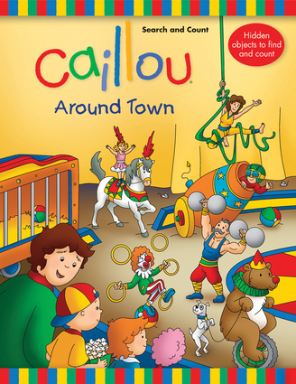 Caillou: Search and Count—Around Town