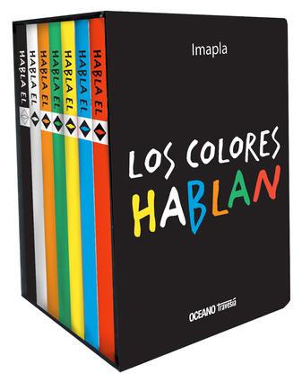 Los colores hablan (Cajita con 7 libros pop-up)