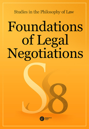 Foundations of Legal Negotiations