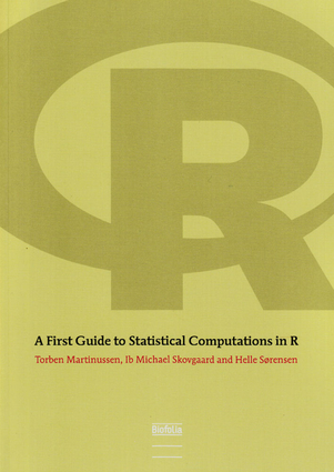 First Guide to Statistical Computation R