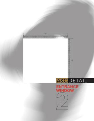 A&C Detail Entrance & Window 1