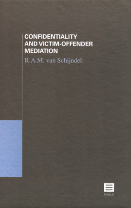 Confidentiality and Victim-Offender Mediation